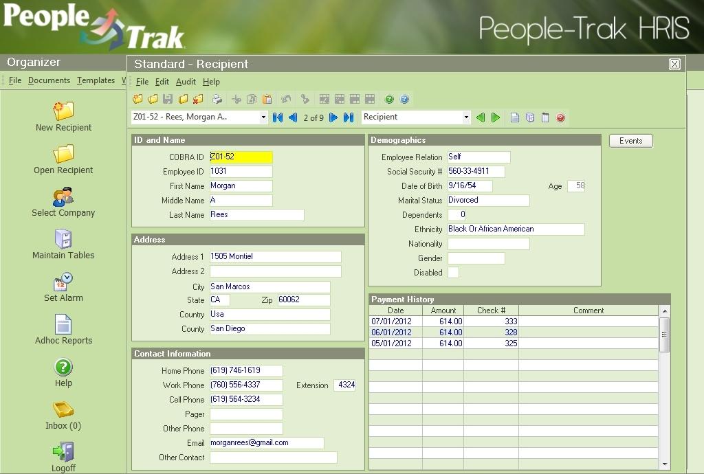 People-Trak COBRA Administration, bigger