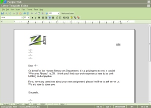 People-Trak Form, Letter, and Label Editor