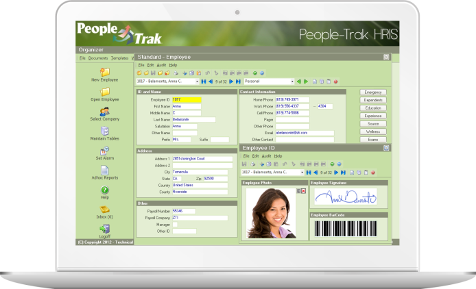 See People-Trak HRIS Software today!